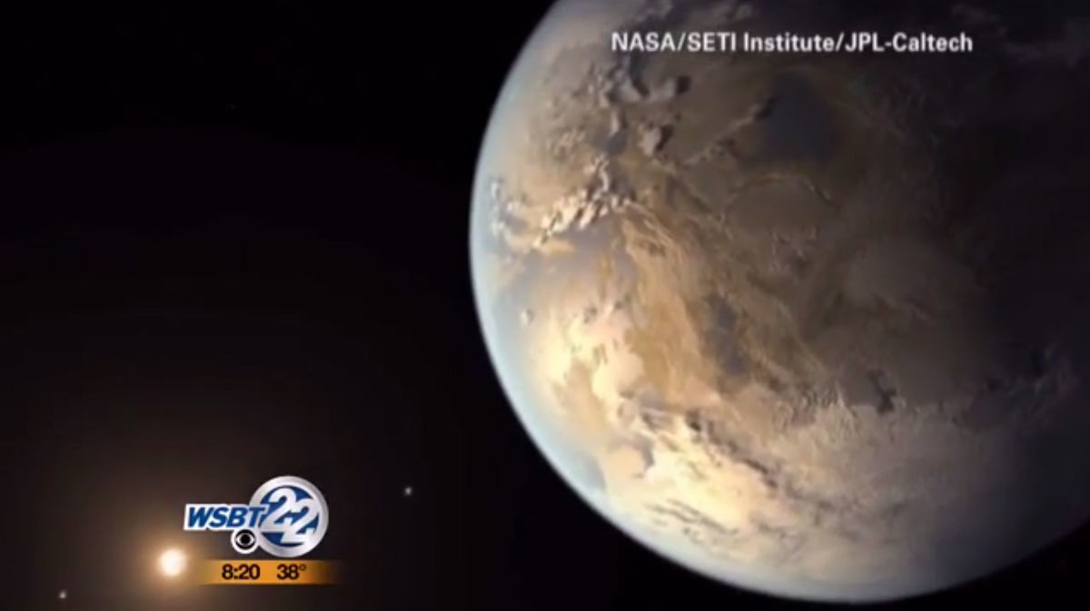 Earth-size Planet Discovered